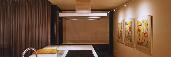 galerieschiene beleuchtung setzt ihre bilders ins rechte licht. Black Bedroom Furniture Sets. Home Design Ideas