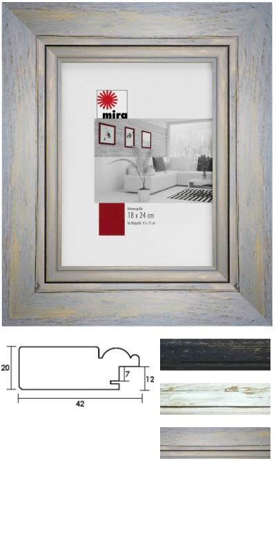 Rustikale Bilderrahmen aus Holz bei Rahmen-Shop.de