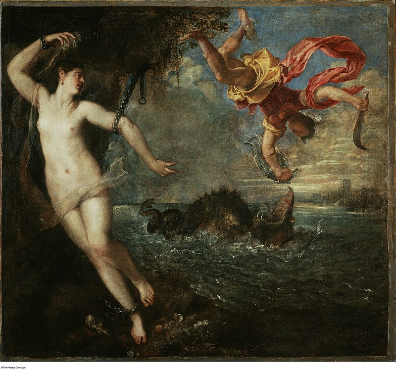 Tizians Poesie Perseus und Andromeda