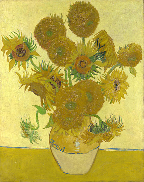 Sonnenblumen von Vincent van Gogh 39 Millionen US$ 1987